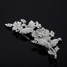 Gorgeous Austria Rhinestones Bridal Combs/ Headpiece - GBP £ 13.61