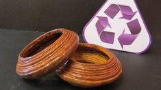 Reciclaje: Pulsera o brazalete. Recycling: Bracelet.