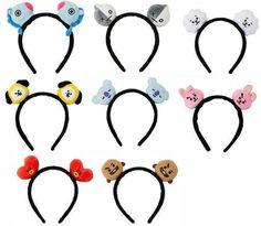 Mochila Kpop, Kpop Shop, Cute Headbands, Boys Accessories, Bts Merch, Line Friends, Cute Plush, Bts Concert, Kawaii Shop
