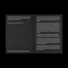 Natural World, Zine, Booklet, Logo Design, Cards Against Humanity, Science, Stone