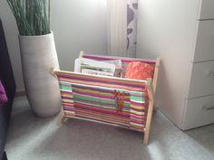 Dollhouse Accessories, Wood Crafts, Diy Furniture, Magazine Rack, Woodworking, Cabinet, Storage, Home Decor, School