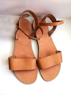 Hi there! I am a greek girl and this design of sandals is my personal favorite to wear all summer long!! This pair on photo was actually taken