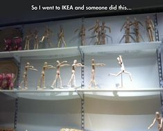 Zombie apocalypse at Ikea…