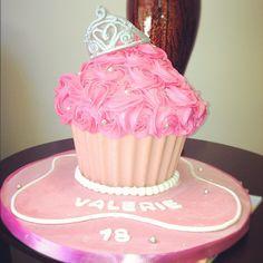 Beautiful princess cupcake cake