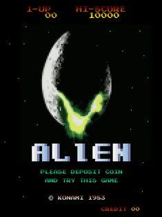 Alien Pixel Game Aliens Movie, Pixel Games, Macabre Art, Alien Vs, Xenomorph, Visionary Art, Horror Films, Scary Movies, Dark Horse