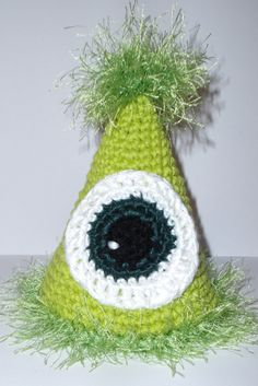Monster's Inc.'s Mike Wazowski Inspired Party or Birthday Hat. $10.00, via Etsy.