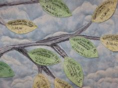 family tree quilt - works for greek families, too! :D