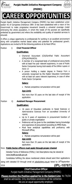 Job Opportunity Punjab Livestock and Dairy Development Board Lahore