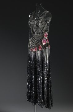 Evening dress ca. 1925