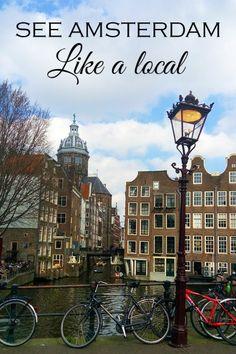 Amsterdam, bike tour, like a local
