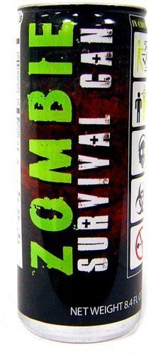 Could be just the boost you need to ensure survival!!  Energy Drink Zombie Survival by Boston America