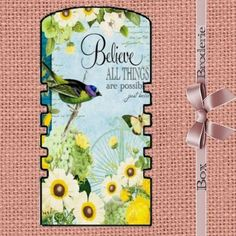 PAPER THREAD SPOOL - Cartonnette plastifiée pour dentelles ou rubans : Boîtes à Couture, rangements par broderiesab