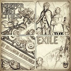 Keeper Of The Lost Cities & Keeper of the Lost Cities: Exile by Shannon Messenger