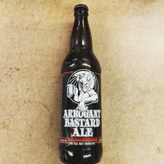Stone Brewery - Arrogant Bastard Ale - 22oz