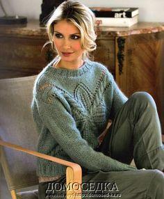 teplyiy pulover 1 Домоседка