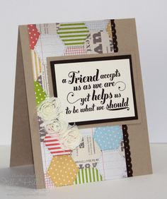 Jills Card Creations: Friends are awesome!