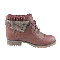 Refresh 'Wynne-01' Women's Lace-up Combat Ankle Boots   Overstock.com