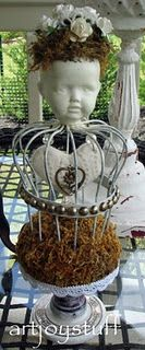 Altered Art Doll Head...