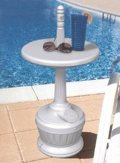 5 Quart Smokers Outpost Patio Table Top Plastic Outdoor Ashtray 711606