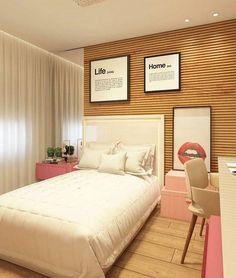 26 Terrific Basement Bedroom Ideas That You Need To Know, - Keller Schlafzimmer White Wall Bedroom, Bedroom Table, Wooden Bedroom, Home Bedroom, Girls Bedroom, Bedroom Decor, Bedroom Ideas, Bedroom Pictures, Teenage Room