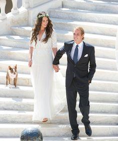Andrea Casiraghi y Tatiana Santo Domingo (El hijo de la princesa Carolina de Mónaco se casará el próximo 31 de agosto en la capital del Principado con la multimillonaria nieta de Julio Mario Santo Domingo.)