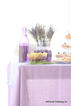 levendula szörp - Eszter Befőz Food And Drink, Table Decorations, Drinks, Syrup, Lavender, Drinking, Beverages, Drink, Simple Syrup