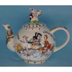 Mad Hatter Tea Pot