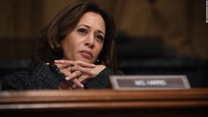 As Kamala Harris positions for a likely presidential run that could be announced as early as this week, the California senator fielded an early hit on her criminal justice record Thursday in the form of a scathing opinion piece in The New York Times. Public Opinion Polls, Opinion Piece, Cnn Politics, Kamala Harris, Criminal Justice, Love Her Style, Strong Women, Cool Girl, Vice President