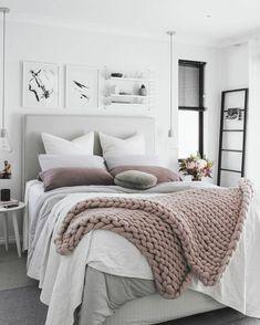 schlafzimmer ideen gemütlich frisch