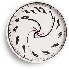 Whirled Wall Clock