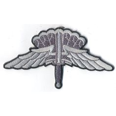HALO Basic Badge Patch Qualified Army and Air Force personnel may earn the Military Freefall Parachutist Badge...