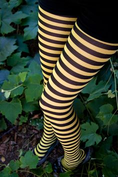 Leg Avenue 'bumble bee' striped tights by Sock Dreams, as seen in the motion picture Me Before You