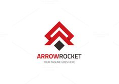 Arrow Rocket Logo by XpertgraphicD on Creative Market