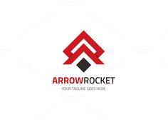 Arrow Rocket Logo by XpertgraphicD on Creative Market