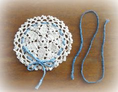 Crocheting with Cotton threads...its more fun in the Philippines!: Mini doily or jar topper - free crochet pattern