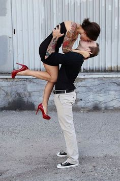 Rockabilly couple