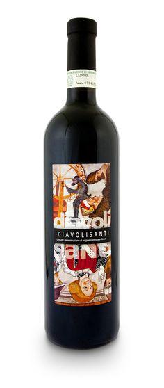 Langhe Rosso : Langhe DOC Rosso 2010 Diavolisanti - Bricco Cucù