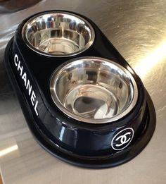 Chanel Pet Bowl