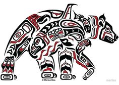 polar bear haida - Google Search