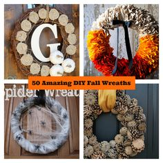 50 Amazing DIY Fall Wreaths
