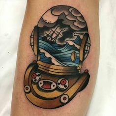 """wainktattoo: """" #tattoo by Aaron Ashworth @aj_tattoo (at WA Ink Tattoo) """" Aaron Ashworth"""