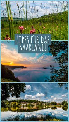 Saarland, Deutschland - Erfahre jetzt mehr über tolle Ausflugsziele im Saarland. Mit dabei die Saarschleife, ein Orchideenpfad, Saarbrücken und mehr! Reise Um Die Welt, Germany Travel, Travel Guides, Places To Go, One Day Trip, Amazing Places To Visit, Germany Destinations