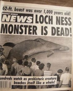 Weekly World News Headlines