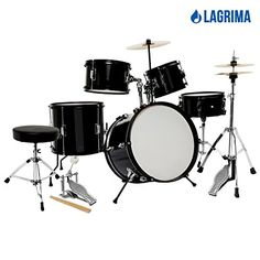 Perfect drum set for kids playing instead of watching TV or playing video games what is harmful to the eyes. Ideal for kids who has the interest of becoming a rock star in the future. This set is comp...