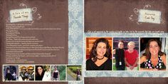 Forever Family designs can help you create the perfect profile book
