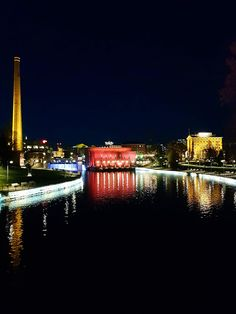 Tampere by Night, Finland After Dark, Helsinki, Finland, New York Skyline, Country, Night, City, Places, Travel