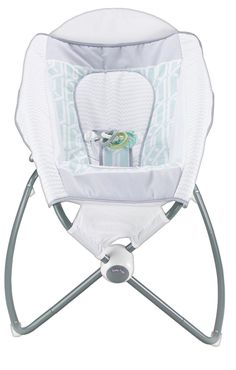 Sooth your babe with the Fisher-Price Auto Rock 'n Play Sleeper. This baby rocker uses electricity to rock and play music - helping your baby drift off to sleep. Rock And Play, Rock N Play Sleeper, Baby Bouncer, Thing 1, Baby Swings, Wishes For Baby, Baby Center, Fisher Price, Baby Gear