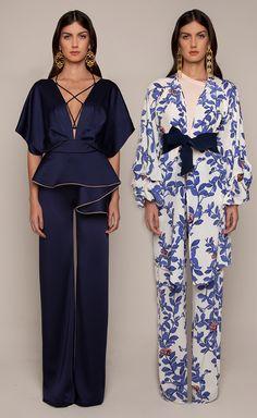 Johanna Ortiz Resort 2016 - Ballerina Jumpsuit and Ivy Kimono