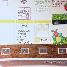 Day 2: Favorite tracking sticker is @itsplanningtime Back to School Countdown! #30DaysofPlanning
