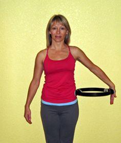 Pilates Ring - Upper Body Toning Exercises - Pilates Ring Exercises to Tone the Upper Body